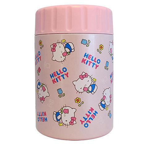 【HELLO KITTY】凱蒂貓真空保溫罐400ml KV-8806