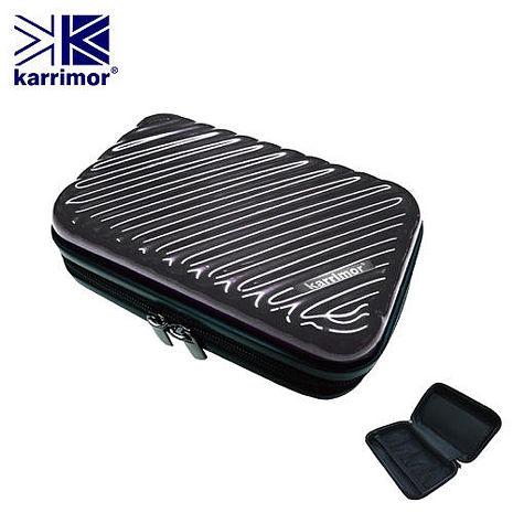 英國【Karrimor】尊榮灰7吋過夜盥洗包 KM-1888