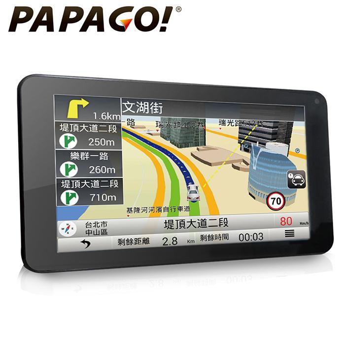 PAPAGO GoPad 7超清晰Wi-Fi 7吋聲控導航平板 ★加碼送16G C10記憶卡★