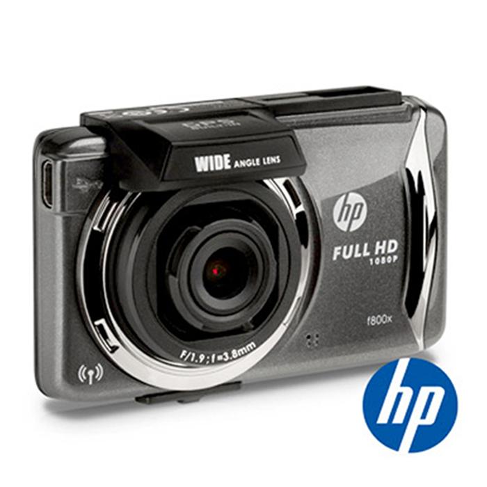 HP惠普 F800X FULL HD 1080P WiFi GPS觸控式行車記錄器★送16G C10記憶卡+三孔點煙器★