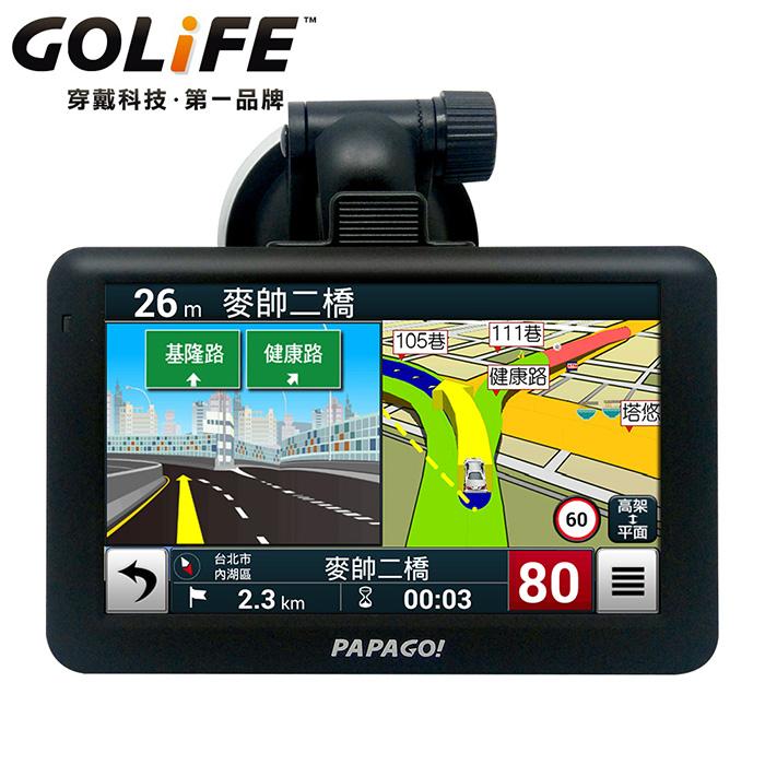 PAPAGO GoPad 5C 超值Wi-Fi5吋導航平板機★送五吋硬殼包★