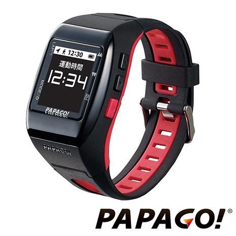 PAPAGO GoWatch770 GPS全中文多功能跑步/自行車二鐵專業運動錶-熱力紅下殺原特價2990