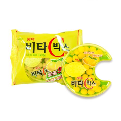 【韓璧食府】樂天LOTTE VC檸檬糖*6包入(第二件5折)共12包