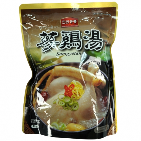 【韓璧食府】 韓國傳統宮中蔘雞湯1kg