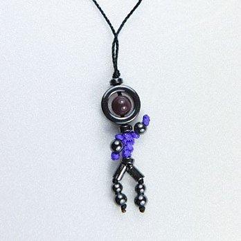 防小人招貴人開運吊飾-紫水晶(紫)