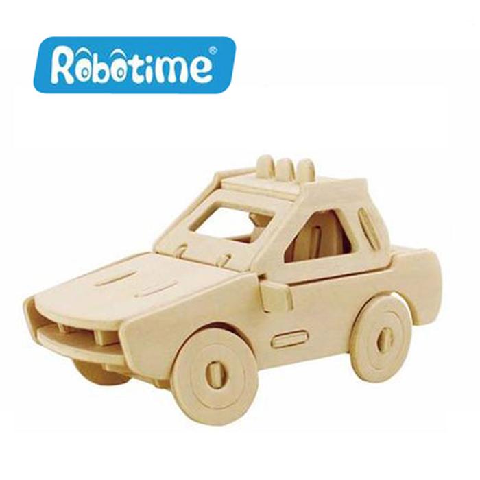 【Robotime】DIY木質3D立體拼圖-轎車