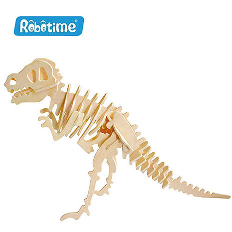 【Robotime】DIY木質3D立體拼圖-恐龍
