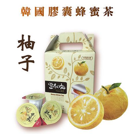 【韓璧食府】花泉綜合膠囊蜂蜜柚子茶球禮盒(30g*15入/盒)