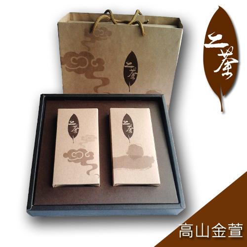 ~道~二茶~ 高山金萱茶 亞洲版 組^( ~買一組送一組^)