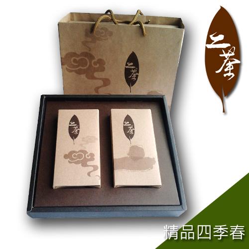~道~二茶~ 四季春 亞洲版 組^( ~買一組送一組^)