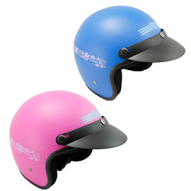 Stitch史迪奇半罩式安全帽贈強化抗uv短鏡片+6入安全帽內襯套 *促銷特價*