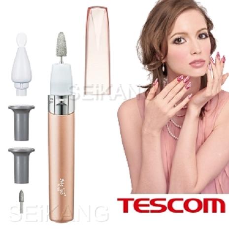 【TESCOM】 TL122 電動專業美甲深層保養組- 桔子色
