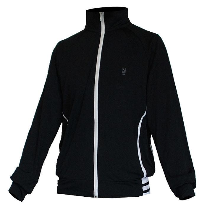 【遊遍天下】MIT女版抗UV吸濕排汗機能薄外套109黑色