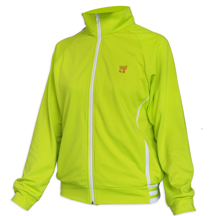 【遊遍天下】MIT女版抗UV吸濕排汗機能薄外套109綠色