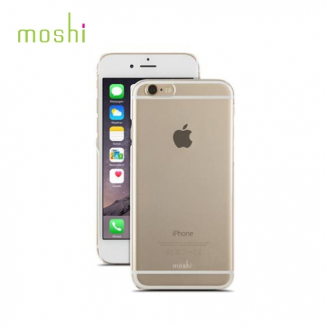 【moshi】Apple iPhone 6/6s 超薄工藝保護殼-透