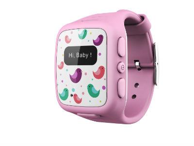 【拆封新品】【OMATE】 兒童專用智慧手錶 -粉