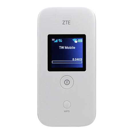 【拆封福利品A級】ZTE MF65+(21M多工行動網卡)-(白)(3G)