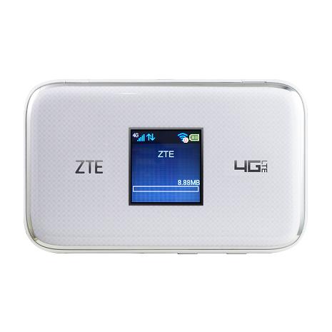 【ZTE】MF970(多工行動網卡)-(白)(4G)
