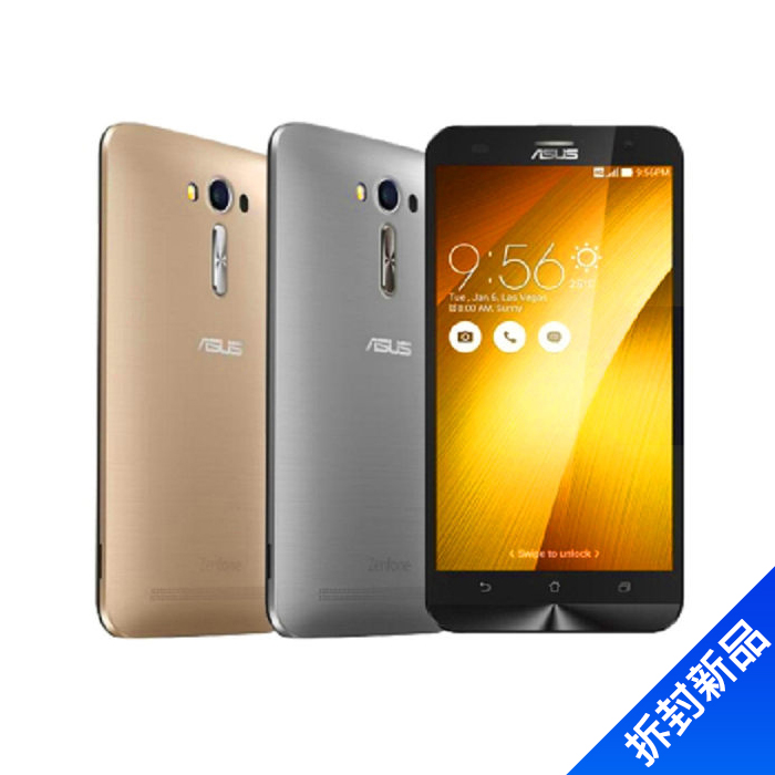 ASUS Zenfone2 ZE551ML_4G Ram_64G-(髮絲紋(金))【拆封新品】
