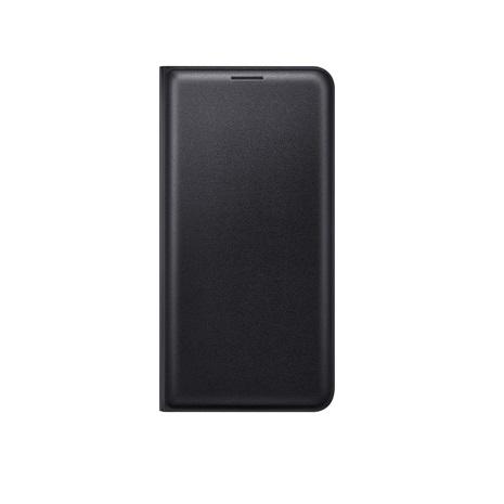 【Samsung】J7 2016原廠翻頁式皮套-黑