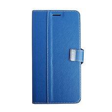 ~ZBAND~Samsung J7 2016皮夾式車線皮套~藍