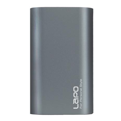 【LAPO】LAPO 7500mAh薄型移動電源-銀灰