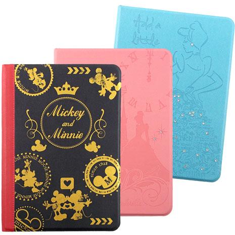 【Disney】iPad Air2 迪士尼授權側立皮套(顏色款式隨機出貨)