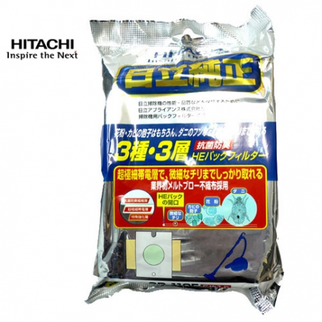 HITACHI日立 日本原裝進口 集塵袋 GP110F (5入)