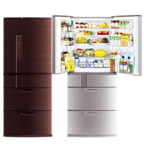 三菱635L日本原裝變頻六門電冰箱MR-JX64W