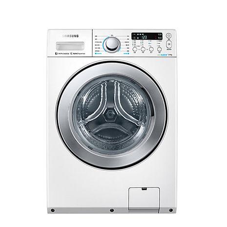 三星14公斤變頻滾筒洗脫烘洗衣機WD14F5K5ASW/TW
