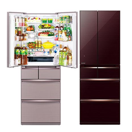 三菱525L日本原裝變頻六門電冰箱MR-WX53Y