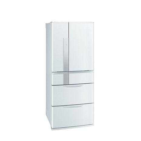 三菱635L日本原裝變頻六門電冰箱MR-JX64W(絹絲白)