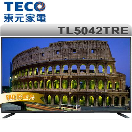 TECO東元 50型FHD LED低藍光液晶顯示器+視訊盒(TL5042TRE)