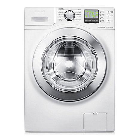 三星12公斤3D魔力泡泡淨滾筒洗衣機WF1124XBC/XTW