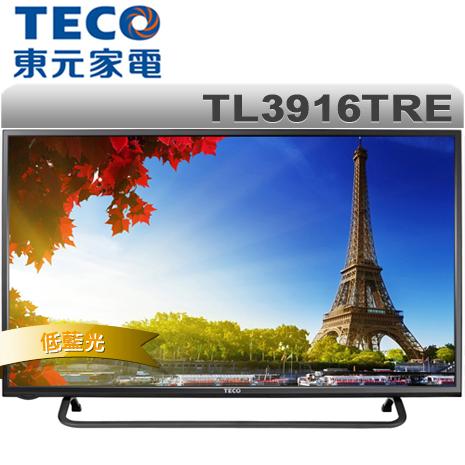 TECO東元 39吋 低藍光LED液晶顯示器+視訊盒(TL3916TRE)(特賣)