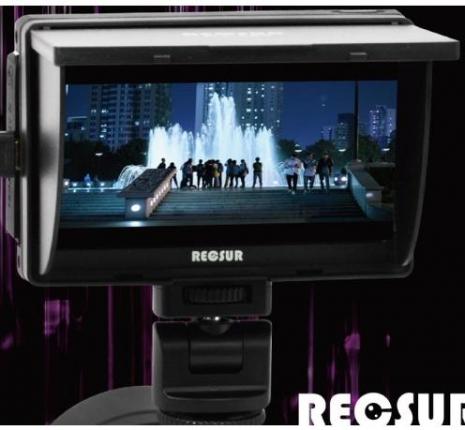 Reosur DT-508 銳攝5吋LCD液晶監看螢幕 送電池+充電器 Sony CLM-V55參考