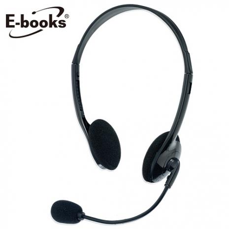 E-books A001 靈巧頭戴式耳機麥克風
