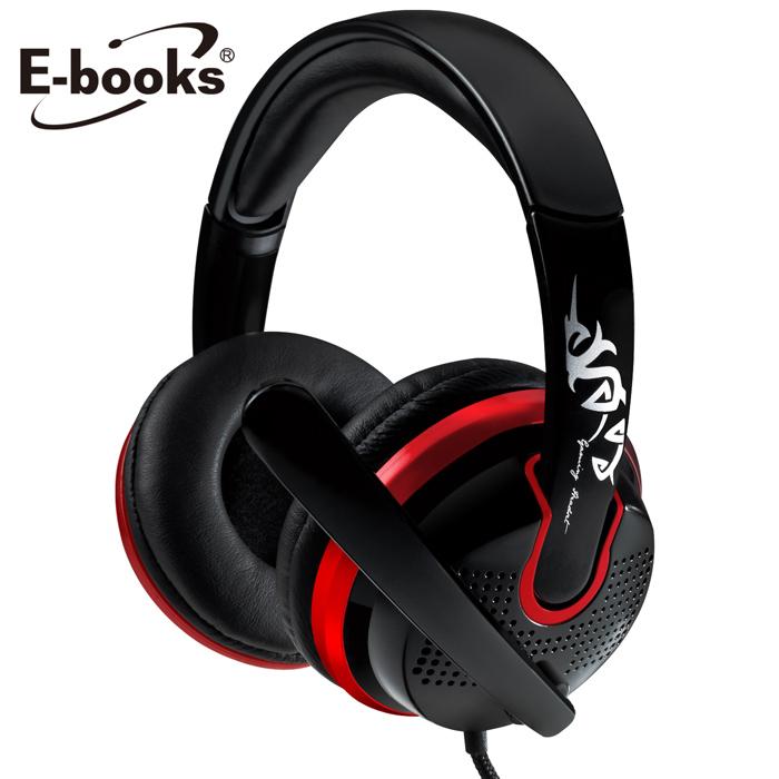 E-books S27 電競頭戴耳機麥克風(買再送小物收納包與充電傳輸線)