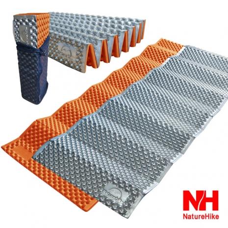 Naturehike  耐壓蛋巢型折疊防潮墊/睡墊(橙色)