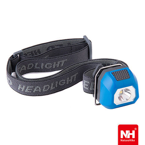Naturehike 迷你防水三段式LED夾帽頭燈 (藍色)