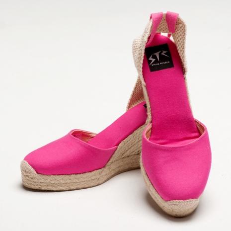 【Bsided】ARCHIBALD HEEL FUSHIA楔型鞋(女)