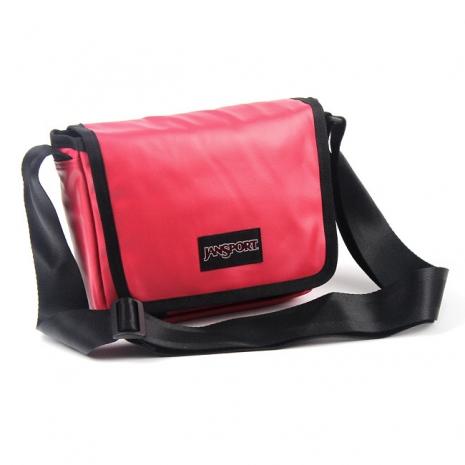JanSport 校園背包(BUZAN)-紅