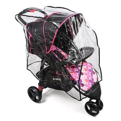 EMC 嬰兒傘車推車遮雨罩(單人)