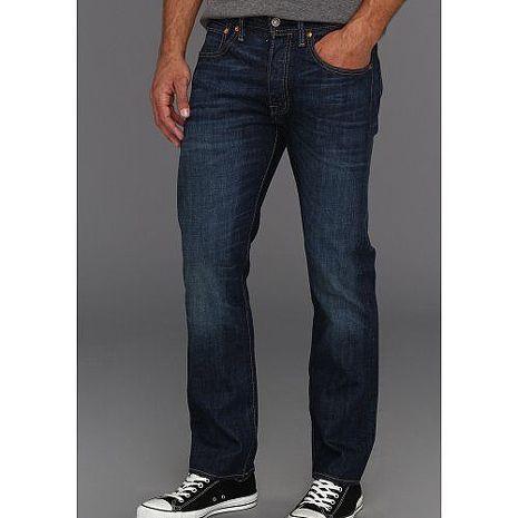 【Levi's】501經典鈕扣Galindo低腰合身深藍牛仔褲★預購