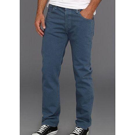 【Levi's】501經典鈕扣低腰合身午夜藍牛仔褲★預購