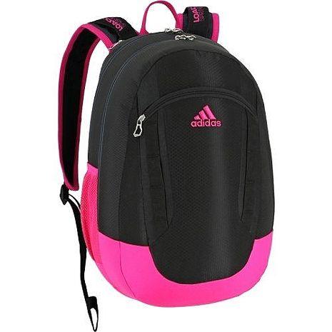 Adidas 2016時尚Excel黑粉衝色大後背包★預購