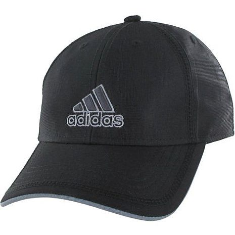 Adidas 2016男時尚Contract輕盈3D刺繡黑色帽子★預購