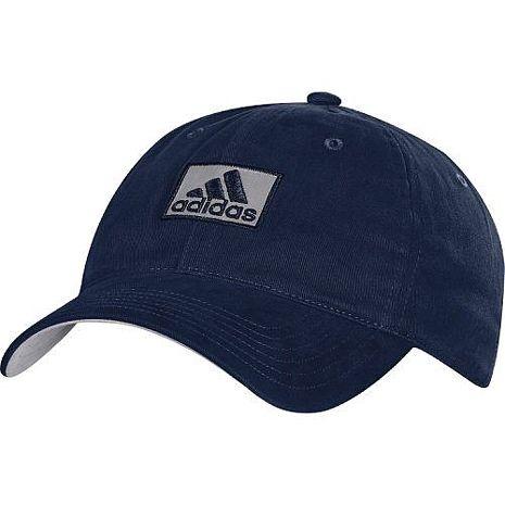 Adidas 2016男時尚全棉高爾夫球寶藍色帽子★預購