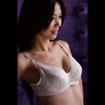 【華歌爾】優雅蕾絲全罩式胸罩 CD罩杯