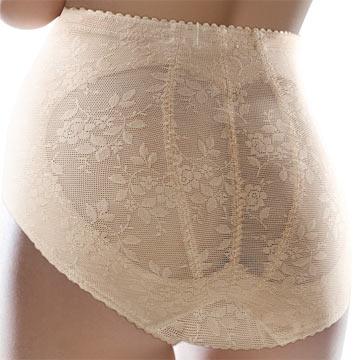 【黛安芬】輕透舒適 花紋短版束褲